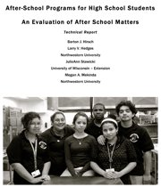After-School Programs for High School Students: An Evaluation of After School Matters