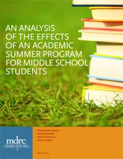 An Analysis of the Effects of an Academic Summer Program for Middle School Students
