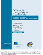 Assessing Leadership: Connections to Research, Professional Standards, and Current Practices