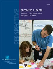 Becoming a Leader: Preparing Principals for Today's Schools