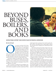 Beyond Buses, Boilers and Books
