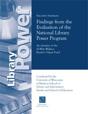 Library Power Executive Summary: Findings from the National Evaluation of the National Library Power Program