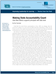 Making State Accountability Count