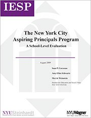 The New York City Aspiring Principals Program: A School-Level Evaluation