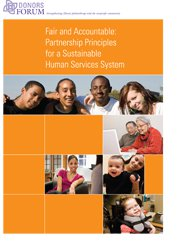 Fair and Accountable: Partnership Principles for a Sustainable Human Services System