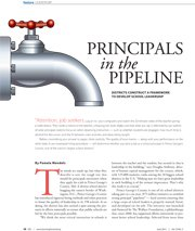 Principals in the Pipeline: Districts Construct a Framework to Develop School Leadership