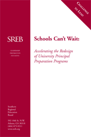 Schools Can't Wait: Accelerating the Redesign of University Principal Preparation Programs