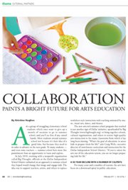 Collaboration Paints a Bright Future for Arts Education