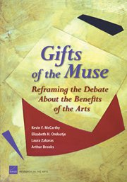 Gifts of the Muse - Reframing the Debate About the Benefits of the Arts