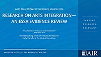Research on Arts Integration—An ESSA Evidence Review