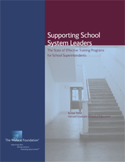 Supporting School System Leaders: The State of Effective Training Programs for School Superintendents