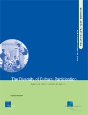 The Diversity of Cultural Participation: Findings from a National Survey